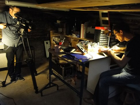 """Tournage reportage """"VD Amps"""""""