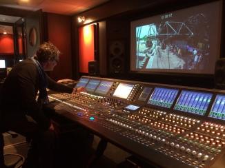 Dans le camion régie Radio France, avec Philippe Cabon !
