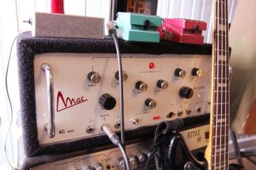 Ampli, reverb et tremolo à lampes Mac...