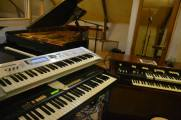 Hammond B100, XB1 & Korg MS20