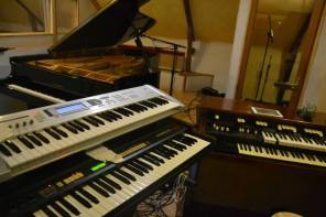 Hammond B100, XB1 & Korg MS20